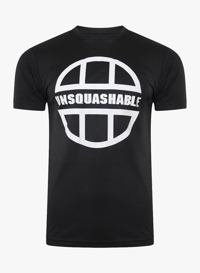 UNSQUASHABLE Training Performance Shirt - Black
