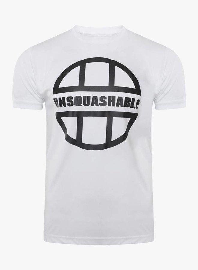 UNSQUASHABLE Training Performance Shirt - White