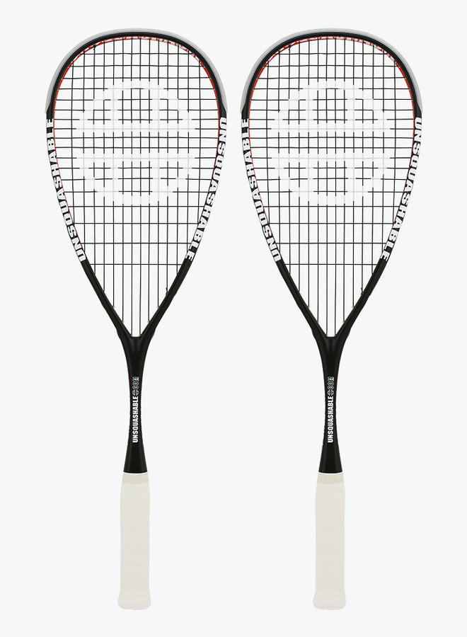UNSQUASHABLE Force-Lite 120 - 2 Racket Deal