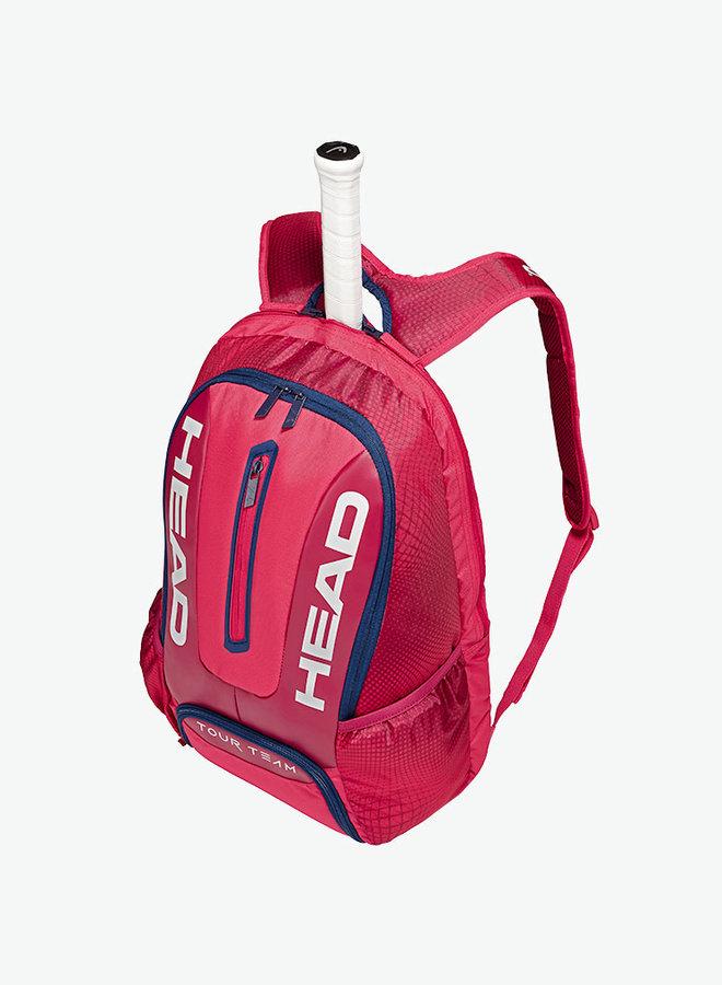 Head Tour Team Backpack - Raspberry / Navy