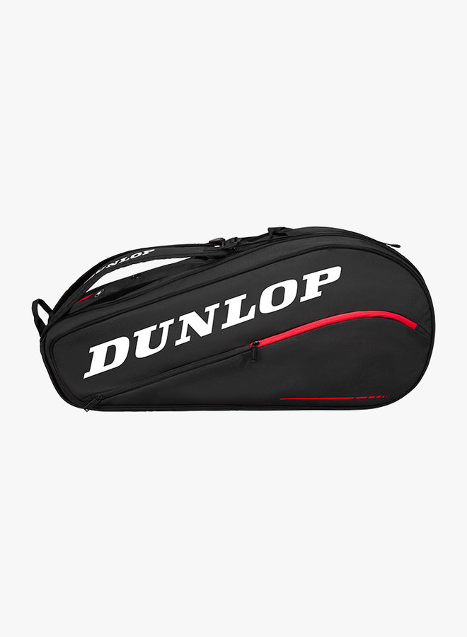 Dunlop CX Team 12 Racket Bag  - Black / Red