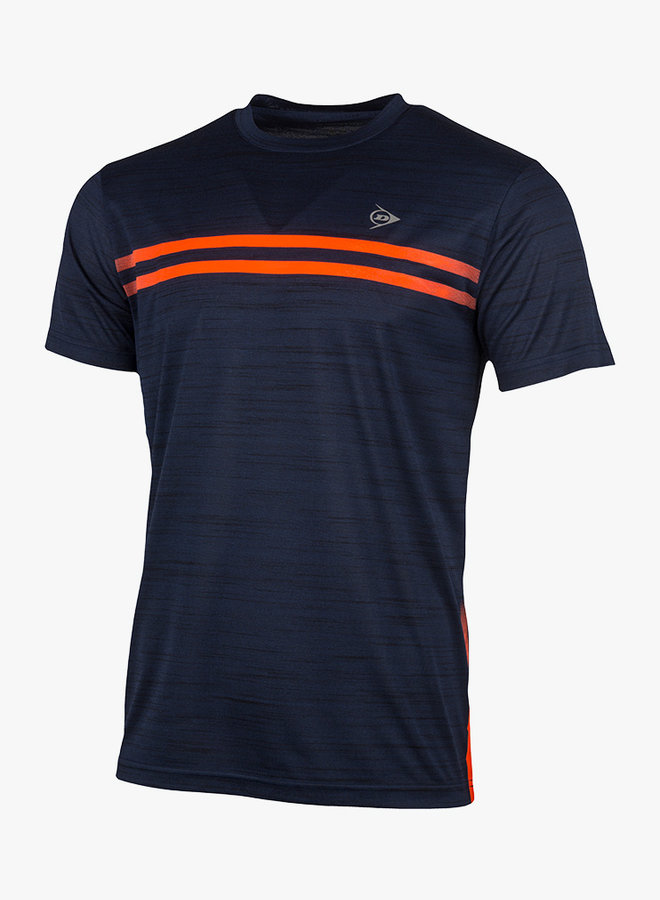 Dunlop Performance Mens Crew Tee - Navy