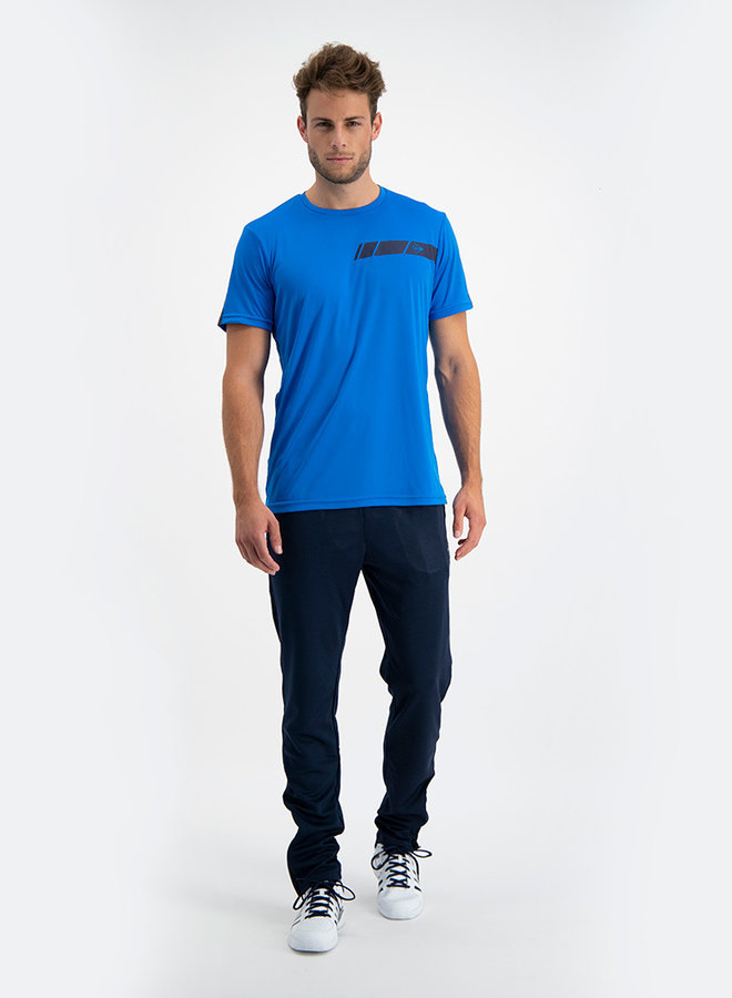 Dunlop Club Mens Crew Tee - Navy