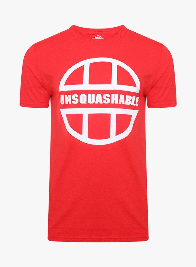 UNSQUASHABLE Training Shirt - Red