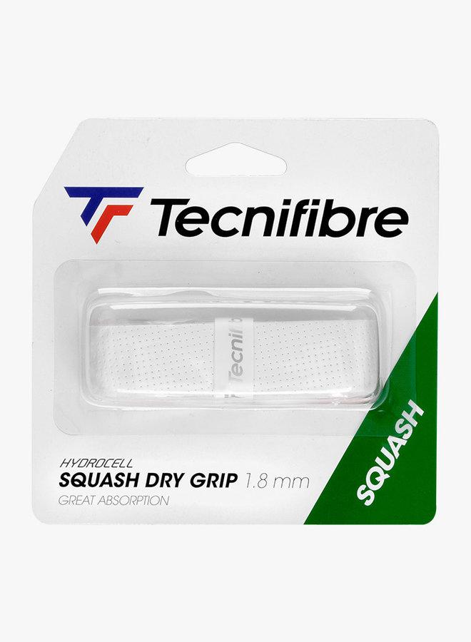 Tecnifibre Squash Dry Grip - White