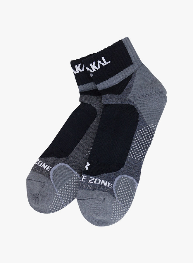 Karakal Mens X4 Technical Ankle Socks - Black / Grey