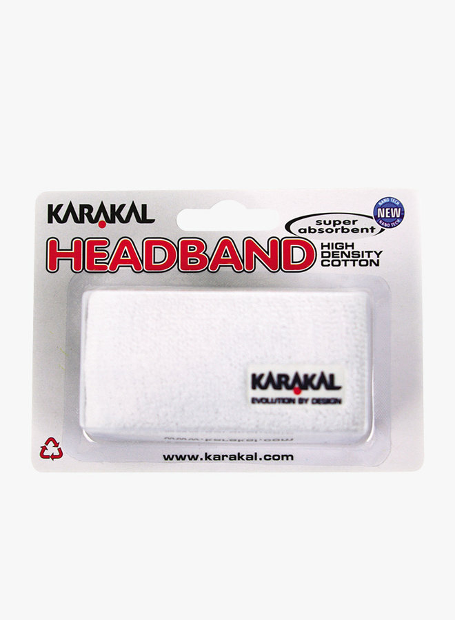 Karakal Headband - White