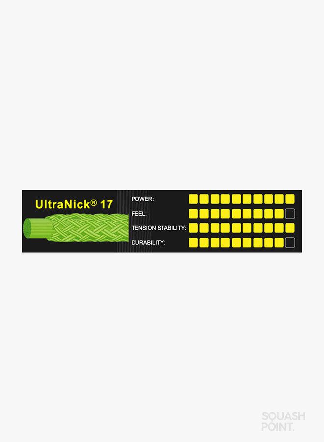 Ashaway UltraNick 17 - String Set 9 m