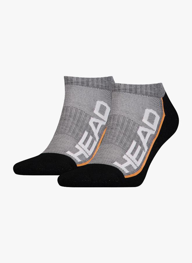 Head Performance Sneaker Socks - 2 Pack - Grey