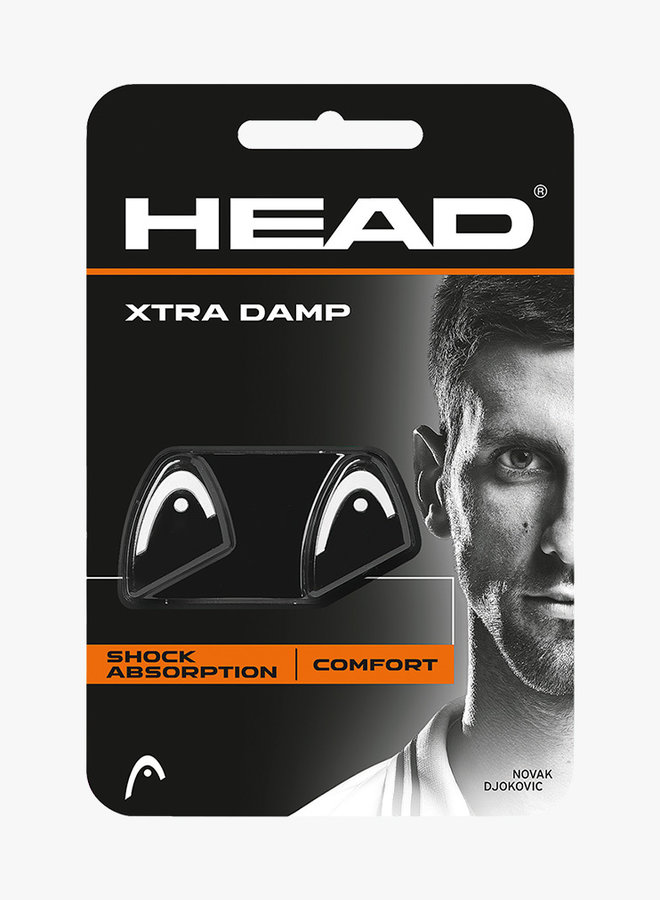 Head Xtra Dampener - 2 Pack -  Black / White