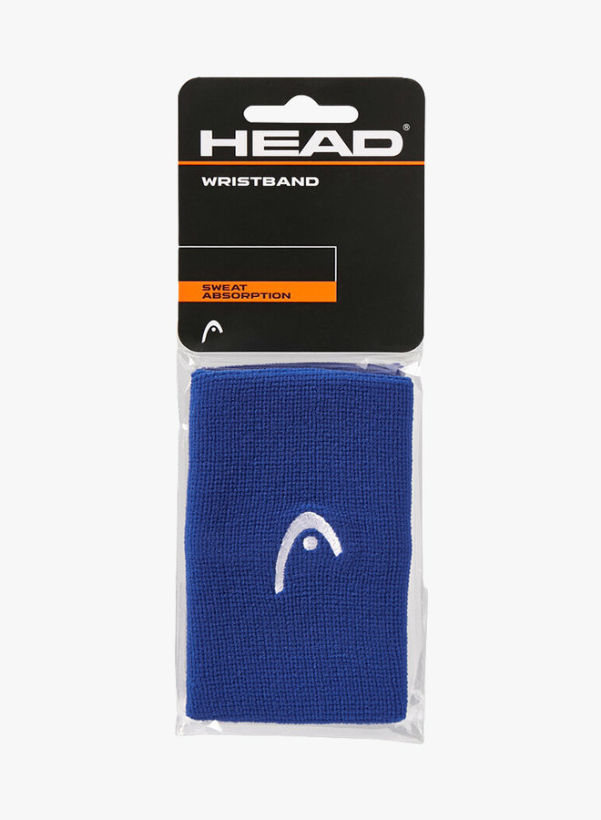 "Head Wristband 5"" - 2 Pack - Navy"