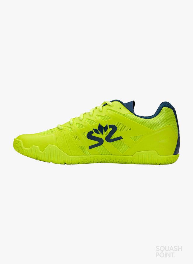 Salming Hawk 2 - Fluo Green / Navy