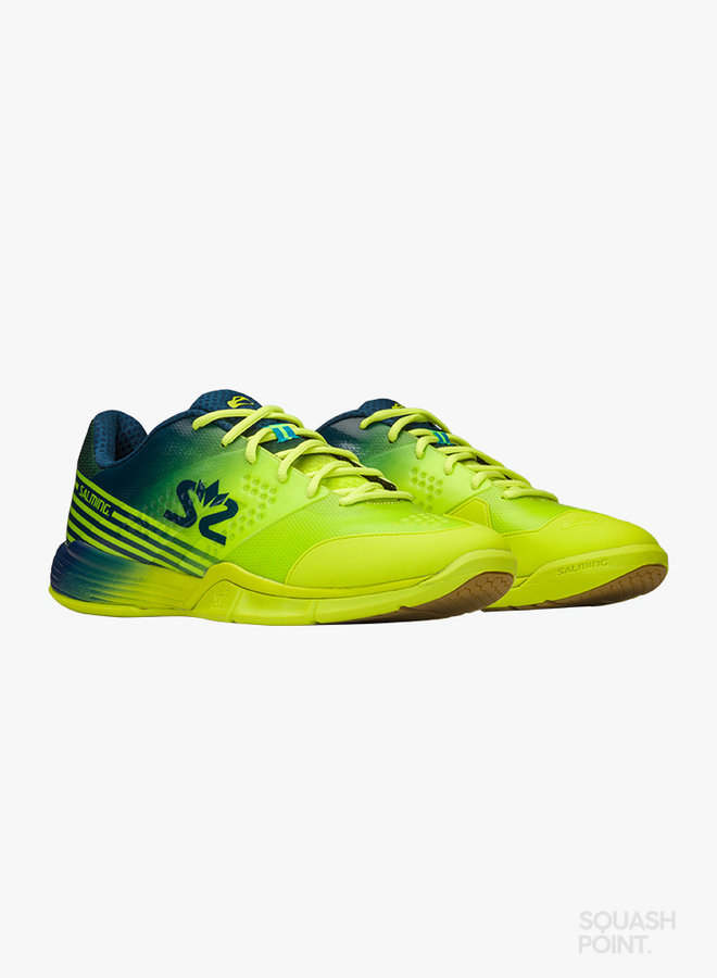 Salming Viper 5 - Fluo Green / Navy