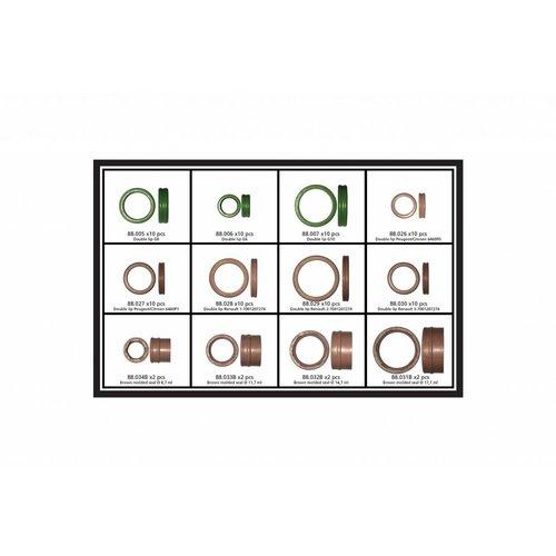 TonLin Speciale O-Ringen kit, 48 stuks