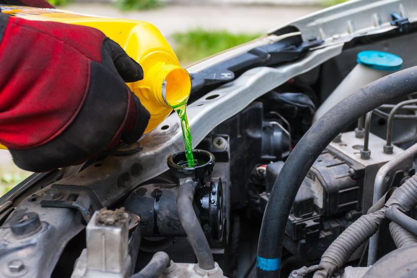 Onderhoud koelsysteem auto