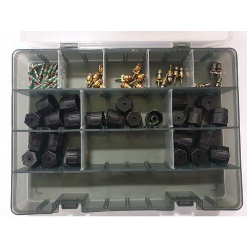 TonLin Airco ventielen en kapjes kit voor R1234yf systemen
