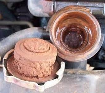 Koelsysteem en radiateur reinigers