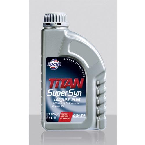 Fuchs  Motorolie Titan Supersyn Longlife Plus SAE 0W-30 1 ltr.