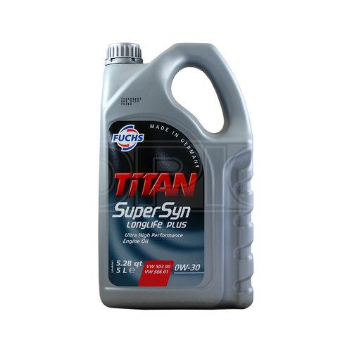 Fuchs  Motorolie Titan Supersyn Longlife Plus SAE 0W-30 5 ltr.