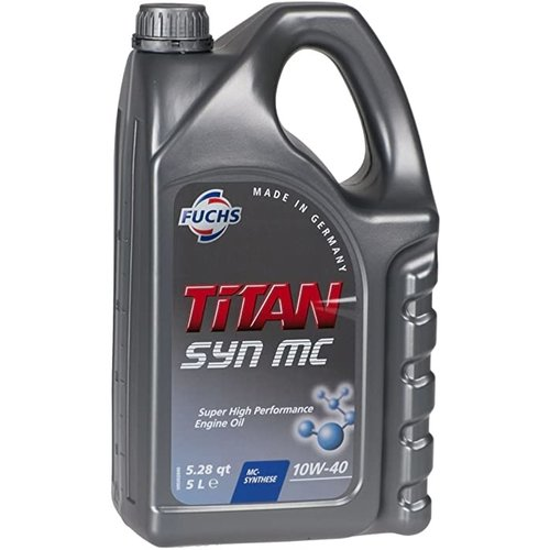 Fuchs  Motorolie Titan Syn MC SAE 10W-40 5 liter.
