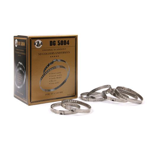 DG Klembanden groot 45-120 mm.  (50 stuks)