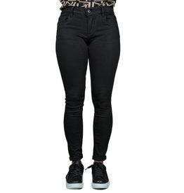 Queen Hearts Black skinny jeans crop push up van Queen Hearts
