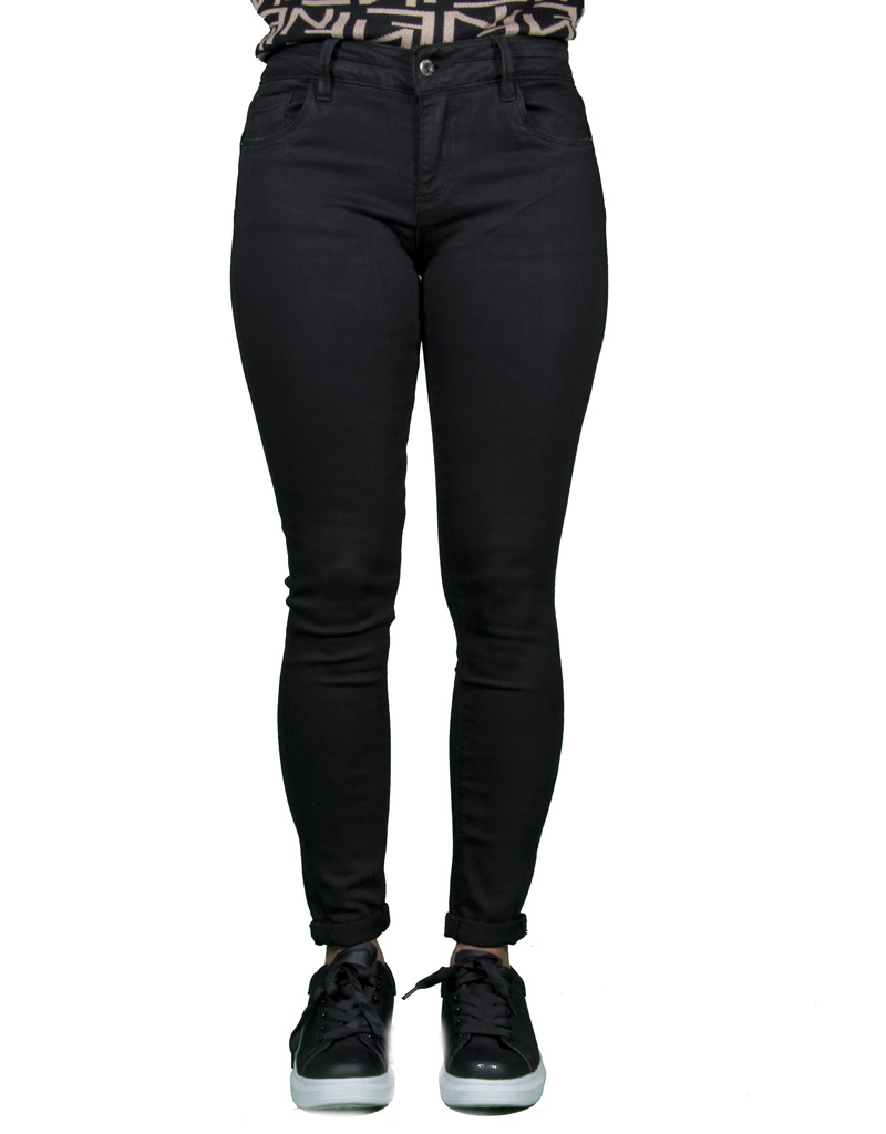 Queen Hearts Black skinny jeans crop push up van Queen Hearts