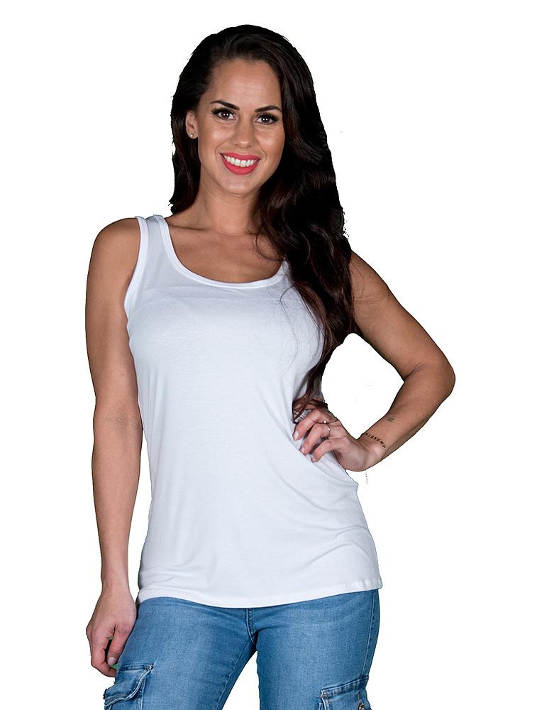 D*versa Wit basic hemdje van D*versa