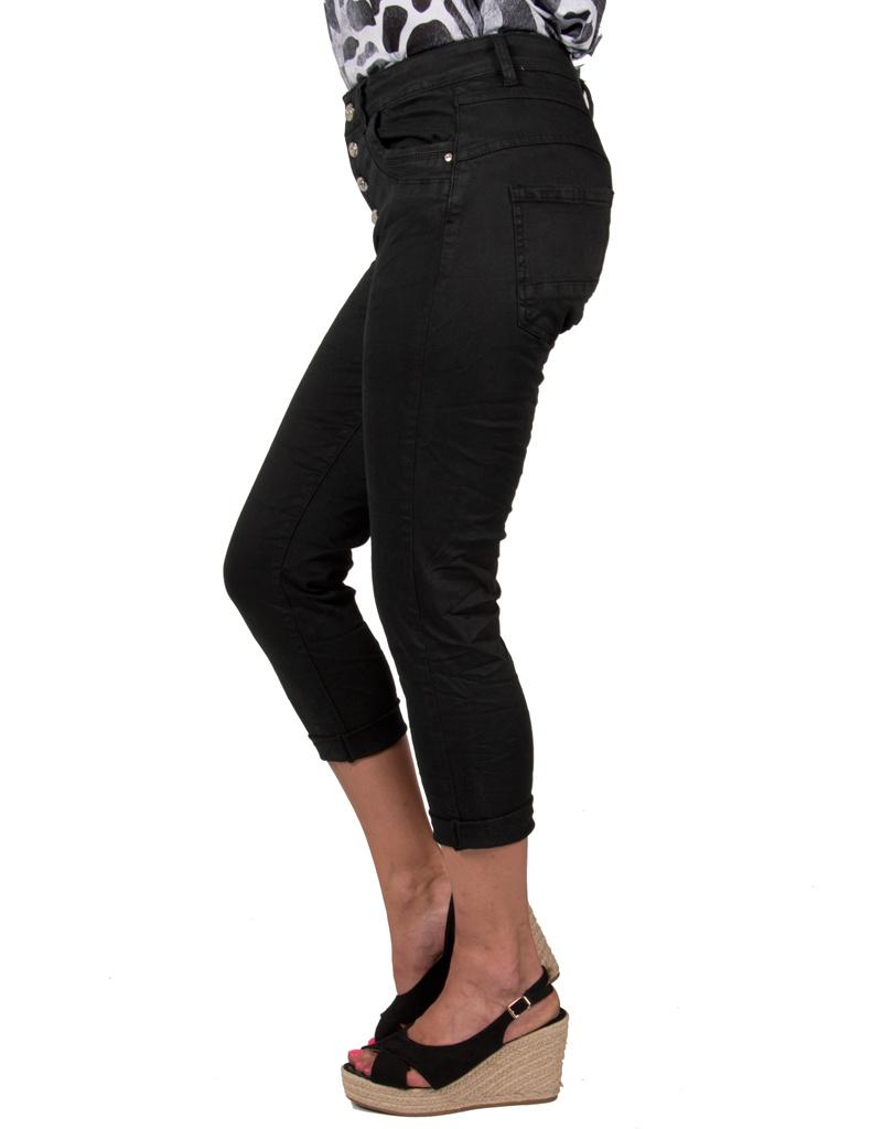 Newplay Zwarte capri jog jeans van Newplay