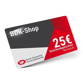 25 Gutschein BDK-Shop  (Postversand)