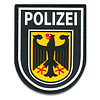 Rubberpatch Wappen Bundespolizei