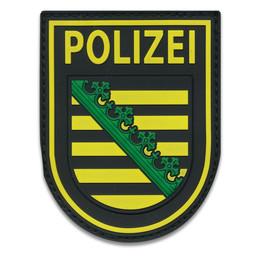 Rubberpatch Länderwappen Sachsen
