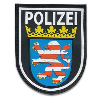 Rubberpatch Länderwappen Hessen