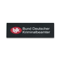 Rubberpatch BDK ( Größe S 12 x 3,8 cm )