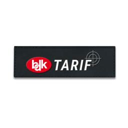 Rubberpatch BDK Tarif ( Größe S 12 x 3,8 cm )
