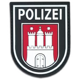 Rubberpatch Länderwappen Hamburg