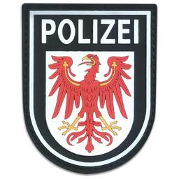 Rubberpatch Länderwappen Brandenburg