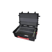 """thumb-iNsync C14; robuster Koffer für 30 iPad Air und 10 """"-11"""" -Tablets, Koffer / Rollwagen mit Schloss für Aufbewahrung, Laden, Synchronisation & Transport-1"""