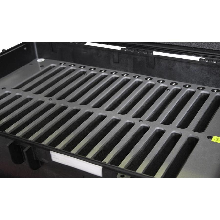 """iNsync C14; robuster Koffer für 30 iPad Air und 10 """"-11"""" -Tablets, Koffer / Rollwagen mit Schloss für Aufbewahrung, Laden, Synchronisation & Transport-3"""