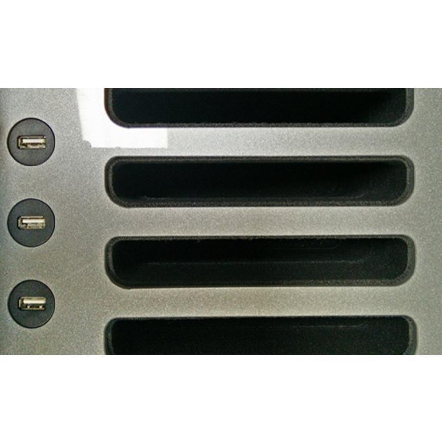 """iNsync C14; robuster Koffer für 30 iPad Air und 10 """"-11"""" -Tablets, Koffer / Rollwagen mit Schloss für Aufbewahrung, Laden, Synchronisation & Transport-5"""