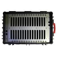 """thumb-iNsync C14; robuster Koffer für 30 iPad Air und 10 """"-11"""" -Tablets, Koffer / Rollwagen mit Schloss für Aufbewahrung, Laden, Synchronisation & Transport-9"""