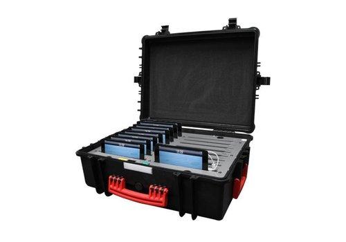 """Parotec-IT charge & sync C34 Ladekoffer für 16 iPad mini und Tablets von 7 bis 8"""" ohne und mit schlanke Schutzhüllen"""