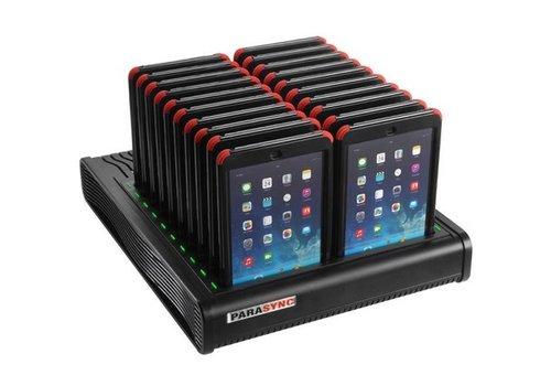 Parotec-IT charge & sync i20 Parasync desktop docking station für 20 iPad mini