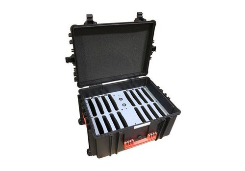 """Parotec-IT iNsync C81 Koffer für bis 16 iPads und 7""""-11"""" Tablets mit dicken Schutzhüllen charge & sync"""