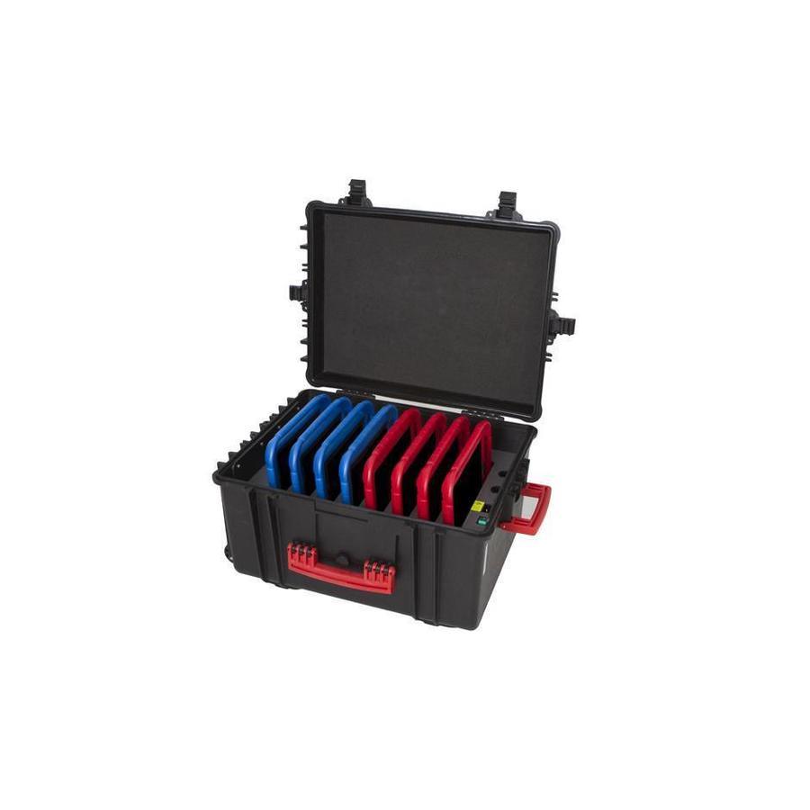 iNsync C61 Speicher, Lade-, Synchronisation- und Transportkoffer für bis zu 8 iPads oder 10-11 Zoll Tablets-1