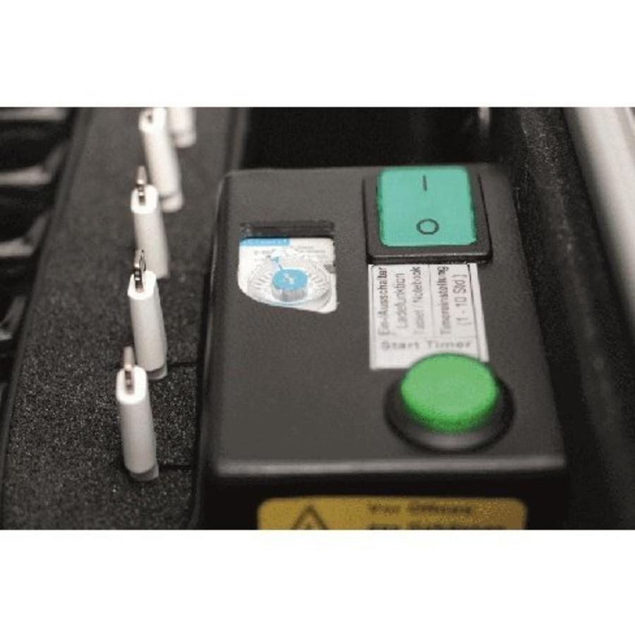 Charge & Sync Ladekoffer einschließlich Kabel für iPads und Tablets, i16-KC-4