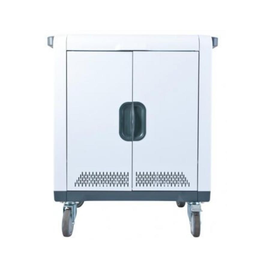 32 Geräte PARAPROJECT Ladetrolley mit Aufladen- und Synchronisierfunktion für 32 iPads und Tablets bis 13,3 Zoll-2