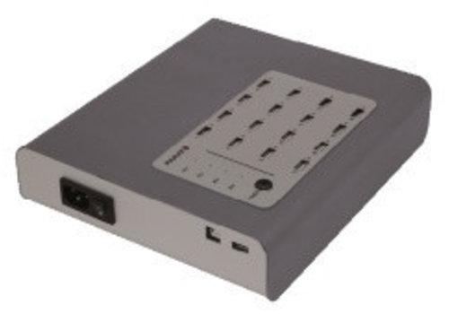 Parat charge & sync i16 HUB Anschluesse USB Multi-aufladen und Synchronisierung