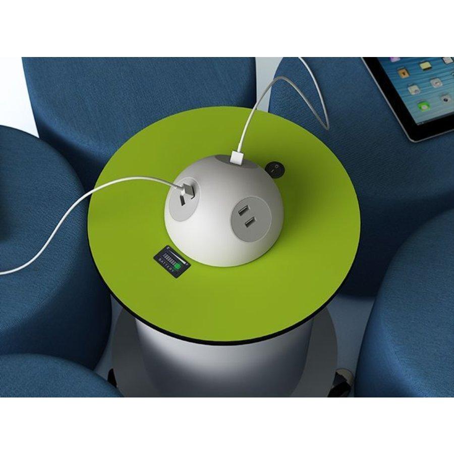 Mobile Stromsäule mit wiederaufladebare Batterie ausgestattet mit  8 USB Anschlüsse-2