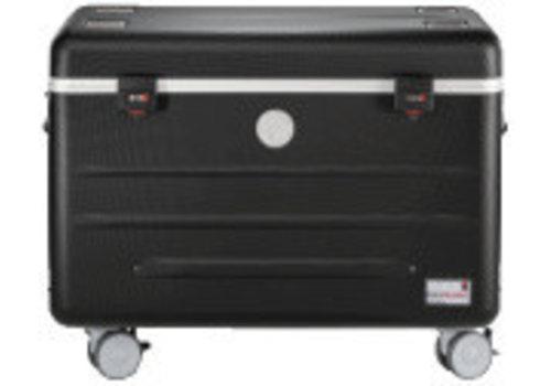 Parat charge i20 Koffer mit Rollen für Tablets mit 20 Einschubfaecher schwarz